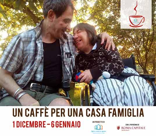 Un caffè per una casa famiglia