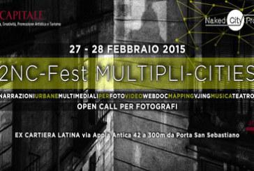 Open Call per progetti fotografici su Roma – 2NC-Fest