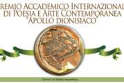 """Premio Internazionale di Arte Contemporanea """"Apollo dionisiaco"""" – Scadenza 30 Giugno 2015"""