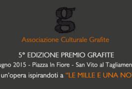 Premio Grafite – Scadenza 10 Maggio 2015