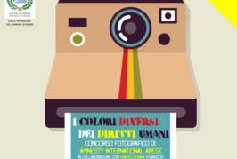Concorso Fotografico I colori diversi dei diritti umani – Scadenza 21 Marzo 2015
