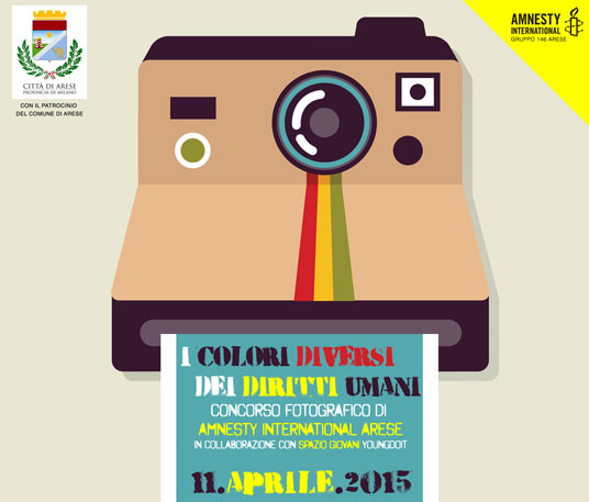 Concorso fotografico Amnesty Internationa Arese