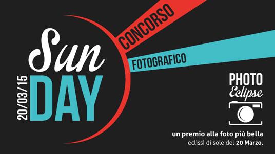 concorso fotografico sunday fotografa l'eclissi
