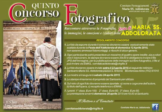 5° Concorso Fotografico Maria SS Addolorata