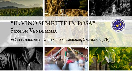 """""""Il Vino si mette in posa"""" -Session Vendemmia"""