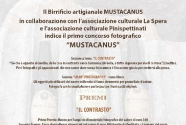 Concorso fotografico Mustacanus – Scadenza 19 Marzo 2016