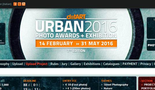 Concorso fotografico URBAN 2016