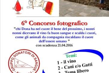 6° concorso fotografico – Gruppo Donatori di Sangue di Forcoli – Scadenza 21 Aprile 2016