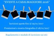 """Concorso fotografico """"Eventi a Casalmaggiore 2016"""" – Scadenza 09 Gennaio 2017"""