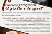 """Concorso Fotografico """"Il Giallo e Lo Sport"""" – Scadenza 20 Luglio 2016"""