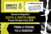 Concorso Fotografico Scatta il diritto umano – Scadenza 20 Novembre 2016