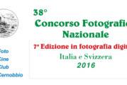 38° Concorso Fotografico Nazionale 2016 – Scadenza 13 Ottobre 2016
