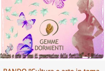 Bando Cultura e arte in tema di preservazione della fertilità – Scadenza 30 Novembre 2016