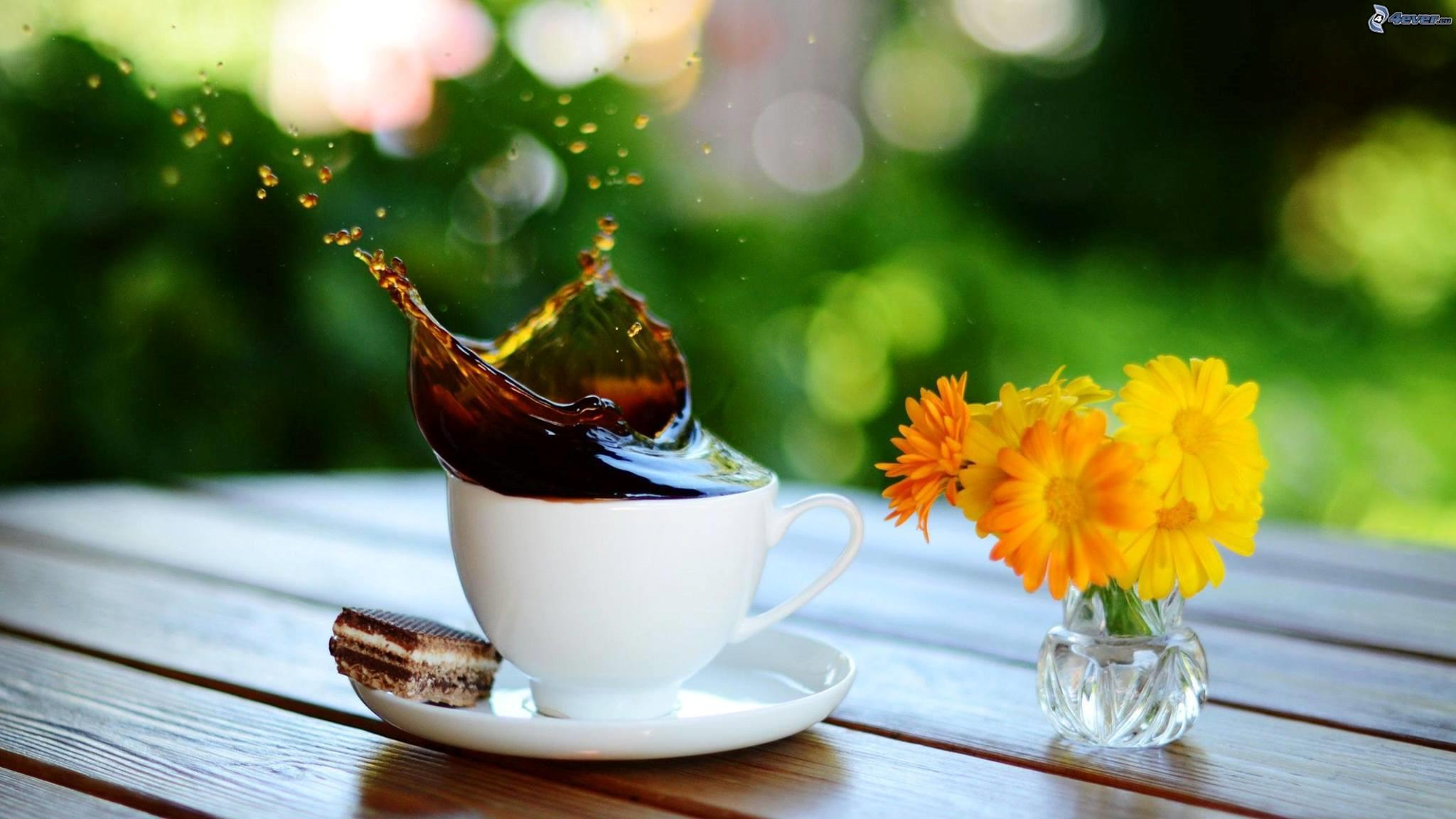 fiori e caffè