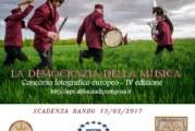 La democrazia della musica – I suoni delle comunità – Scadenza 13 Marzo 2017