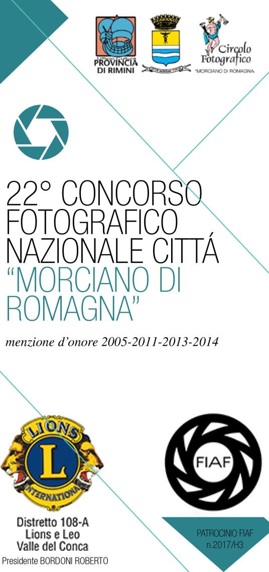 """22° concorso fotografico nazionale """"Città Morciano di Romagna"""""""