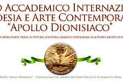 Premio Internazionale d'Arte Contemporanea Apollo dionisiaco Roma – Scadenza 10 Giugno 2017