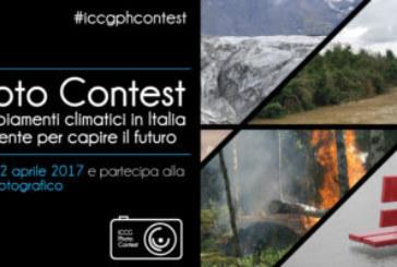 Gli impatti dei cambiamenti climatici in Italia. Fotografie del presente per capire il futuro – Scadenza 22 Aprile 2017