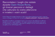 CONTEST OpengramRoma 2017 – Scadenza 07 Maggio 2017