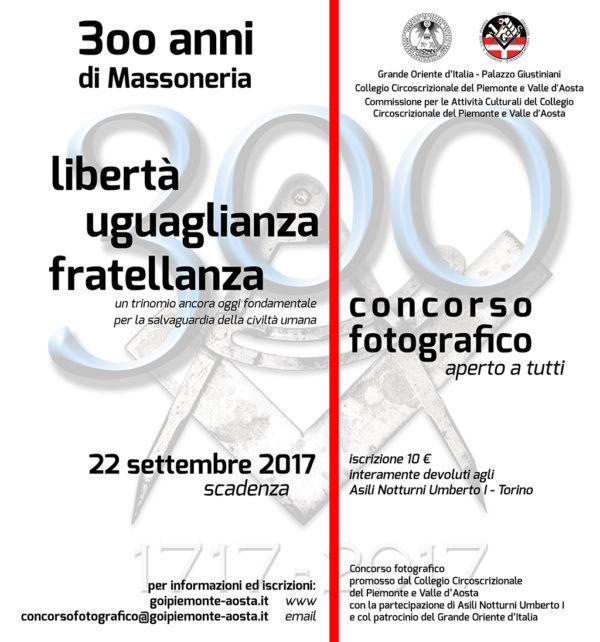 300 anni di Massoneria: Libertà Uguaglianza Fratellanza