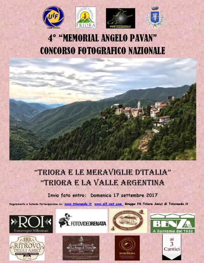4° Memorial Angelo Pavan - Concorso Fotografico Nazionale