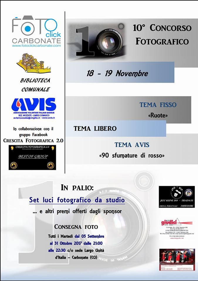 10° concorso fotografico Fotoclick