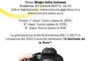 Le Photographe de la Tour – Scadenza 27 Ottobre 2017