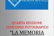 La Memoria delle Immagini – IV edizione – Scadenza 01 Ottobre 2017