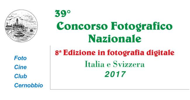 39° Concorso Fotografico Nazionale 2017