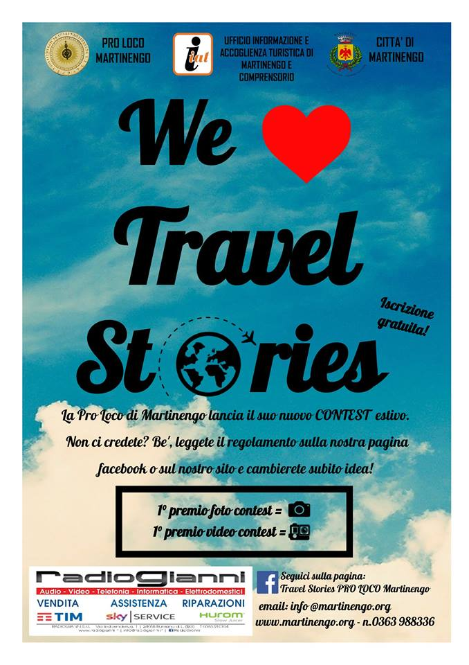 Concorso Fotografico Travel Stories