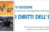 """6° Concorso Fotografico Internazionale """"I diritti dell'Uomo"""" – Scadenza 06 Marzo 2018"""