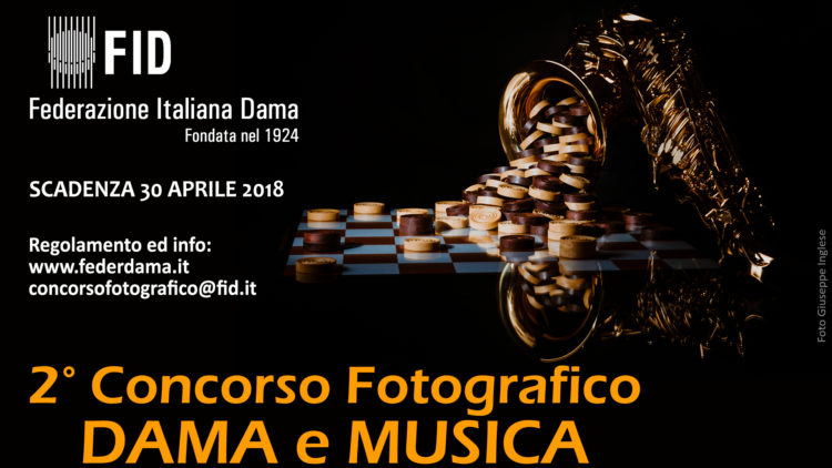 """2°Concorso fotografico """"Dama e Musica"""""""