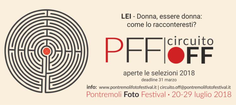 Bando Circuito OFF - Pontremoli Foto Festival