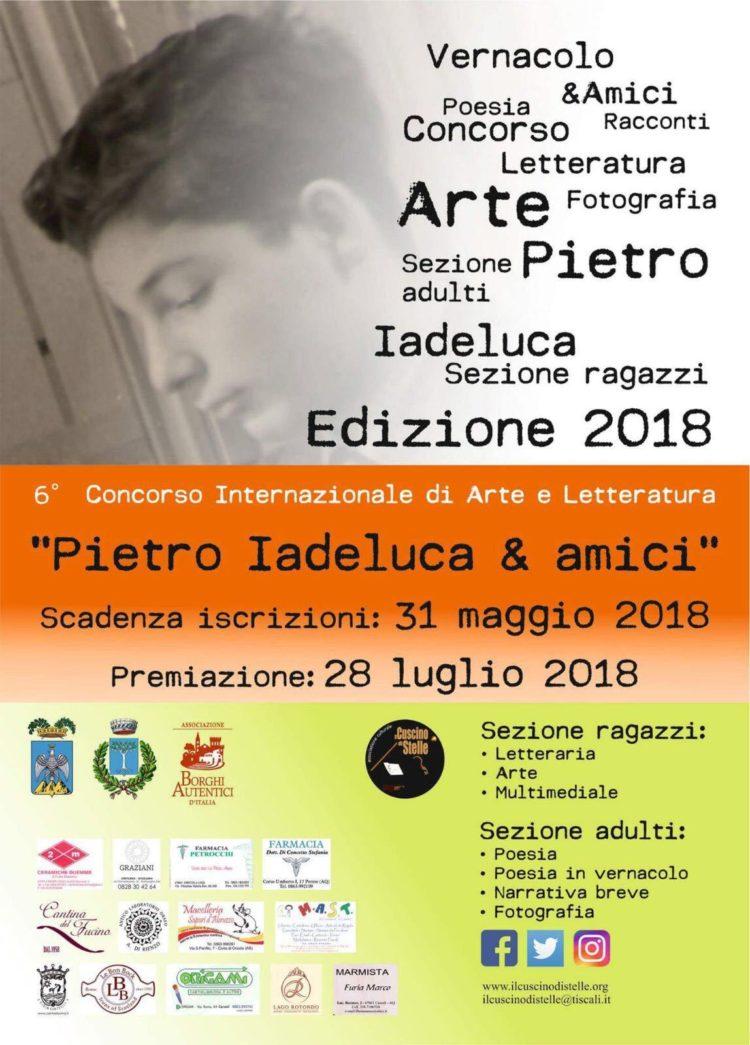 """6° Concorso Internazionale di Arte e Letteratura """"Pietro Iadeluca & amici"""""""