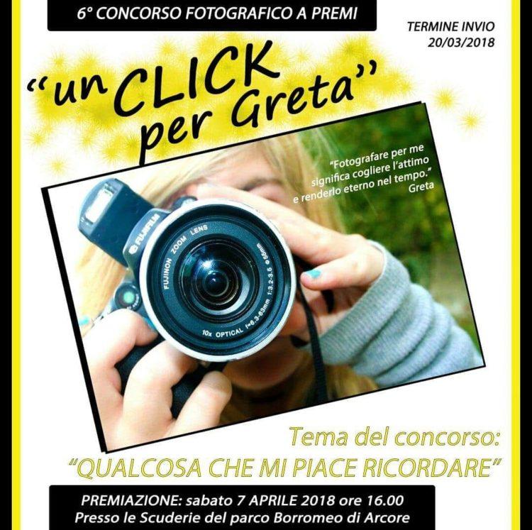 Concorso Fotografico Un Click Per Greta