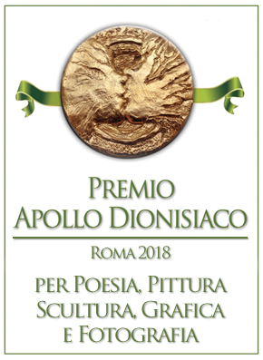Premio Internazionale d'Arte Contemporanea Apollo dionisiaco Roma 2018