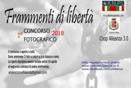 Concorso Fotografico Frammenti di Libertà – Scadenza 06 Aprile 2018