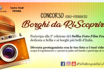 """Concorso Video Fotografico """"Borghi da RiScoprire"""" – Scadenza 11 Giugno 2018"""