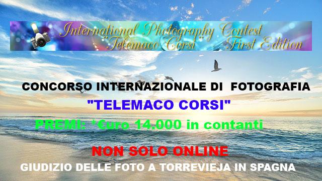 """Concorso Internazionale di Fotografia """"Telemaco Corsi"""""""