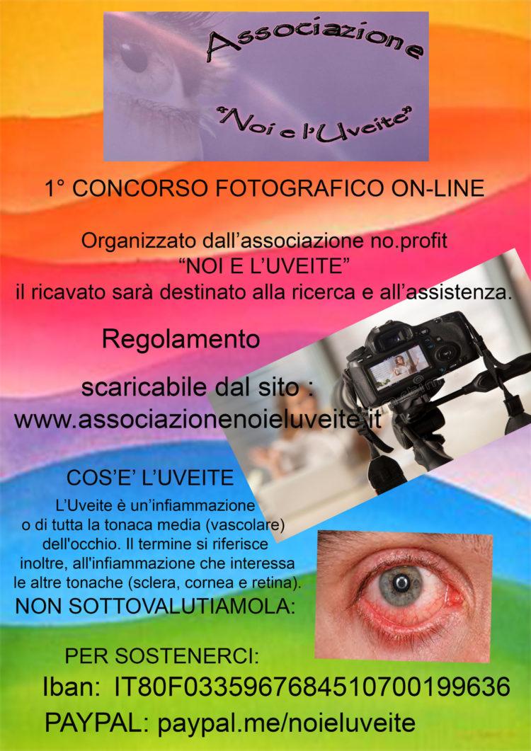 1° Concorso fotografico On-line a scopo benefico