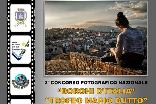 Borghi d'Italia – Trofeo Mario Dutto – Scadenza 12 Luglio 2018