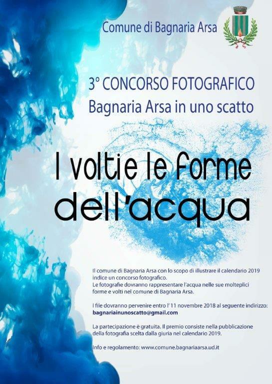 3° Concorso Bagnaria Arsa in uno scatto - I volti e le forme dell'acqua.