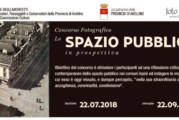 Lo spazio pubblico in prospettiva – Scadenza 22 Settembre 2018