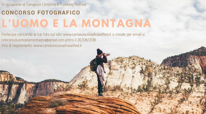 Concorso Fotografico L'uomo e la montagna