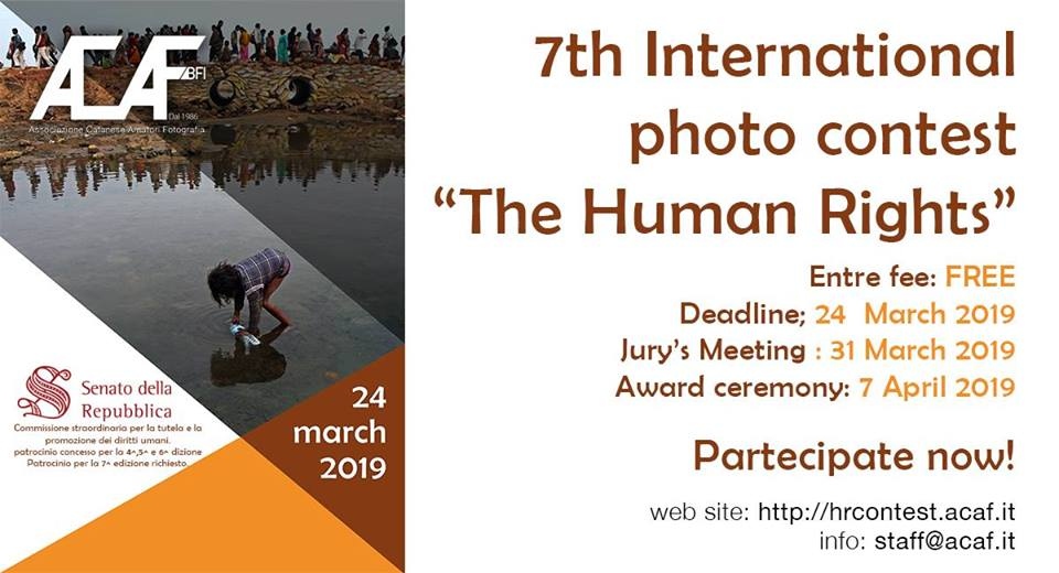 "7th International photo contest ""The Human Rights"""