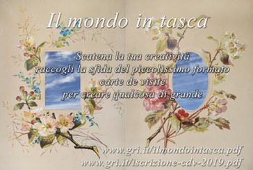 "Premio Gianluigi Parpani ""Il Mondo in Tasca"" – Scadenza 15 Aprile 2019"